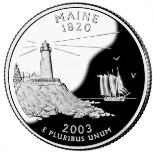 Maine_quarter,_reverse_side,_2003